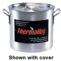 Browne Foodservice 5813160 Stock Pot 60 Quart Cover Sold Separately Aluminum Thermalloy Series Price Each Sold in Cases of 2