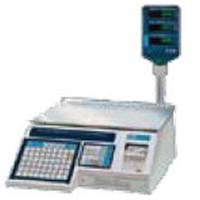 Alfa International ALP130P Price Computing and Label Printing Scale 01 Lb 30 Lb VFD with Tower