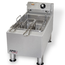 APW Wyott EF15IN Fryer Electric Countertop 15 Lb Oil Capacity Single Frypot with 2 half sized Baskets