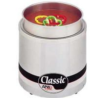 APW Wyott RW1V Food Warmer Countertop Electric 7 Quart Round Well Insets and Covers Sold Separately