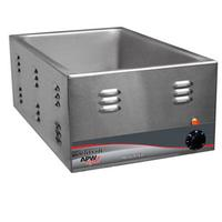 APW Wyott W3VI Food Warmer Countertop Electric Full Size 12 x 20 Pan Size Wet or Dry Operation