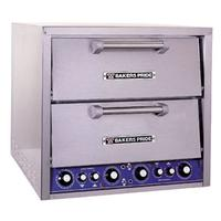Bakers Pride DP2BL PizzaBake Oven Double Compartment Countertop 2034 Wide x 2034 Deep Brick Lined