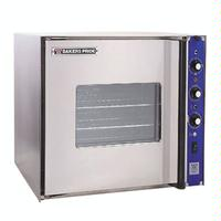Bakers Pride COCE1 Convection Oven Electric HalfSize Single Deck Cyclone Series