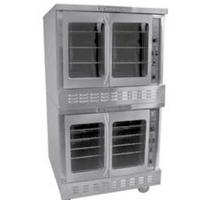 Bakers Pride BPCVG2 Convection Oven Full Size Gas Double Deck Bakery Depth Cyclone Series 90000 BTUH Per Deck
