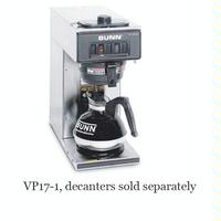 Bunn 133000001 12 Cup Coffee Brewer 1 Lower Warmer Pourover VP1710001 Decanters Sold Separately