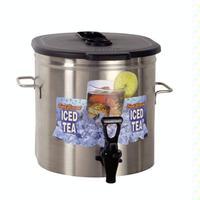 Bunn 371000000 TDO350000 Oval Iced Tea Dispenser brewthrough plastic lid side handles 35 gallon capacity Model 371000000