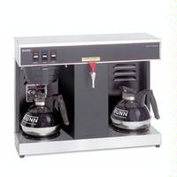 Bunn 074000005 12 Cup Coffee Brewer 2 Lower Warmers Automatic Hot Water Faucet VLPF0005 Decanters Sold Separately