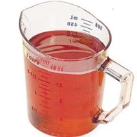 Cambro 50MCCW135 1 Pint Measure Polycarbonate Dishwasher Safe NSF Priced Each Sold in Cases of 12