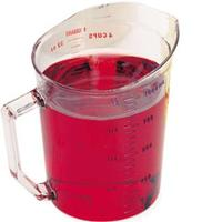 Cambro 100MCCW135 1 Quart Measure Polycarbonate Dishwasher Safe NSF Priced Each Sold in Cases of 12