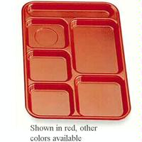 Cambro BCT1014161 Budget School and CafeteriaTrays 10 x 1412 5 Food Compartments 1 Flatware Compartment Tan Color Priced Each Sold in Cases of 24