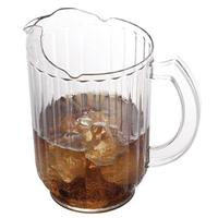 Cambro PE600CW135 Pitcher 60 Oz Priced Each Sold in Cases of 6 Clear Polycarbonate Camwear Series