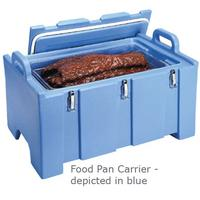 Cambro 100MPC110 Food Pan Carrier Fits 12 x 20 Food Pans 40 Quart Capacity Black Cambro Camcarriers