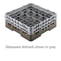 Cambro 16S1058110 Glassware Dishrack 16 Compartments 438 Max Diameter 11 Max Height Black Priced Each Sold in Cases of 2 Racks Camrack Series