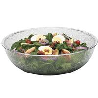 Cambro PSB12176 Salad Bowl Polycarbonate Pebbled 12 Round 58 Quart Camwear Series Priced Each Sold in Cases of 12