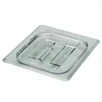 Cambro 60CWCH135 Food Pan Lid 16 Size Clear Polycarbonate with Handle Priced Each Minimum Purchase 6