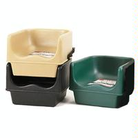 Cambro 100BC1110 Booster Seat Single Height No Strap Polyethylene Black