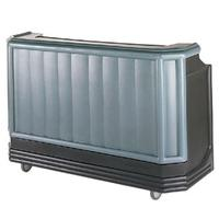 Cambro BAR730194 Cambar Portable Bar 7234 L Poly Construction Includes 80 lb Ice Sink with Cover Granite Sand
