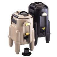 Cambro CSR5110 Camserver Beverage Dispenser Hot or Cold 5 Gallon Capacity Foam Insulation Black