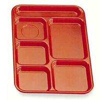 Cambro PS1014161 PennySaver School and CafeteriaTrays 10 x 1412 5 Food Compartments 1 Flatware Compartment Tan Color Priced Each Sold in Cases of 24