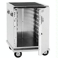 CresCor 309128C Cabinet Mobile Enclosed Half Height Insulated Lift Out Interior Aluminum 8 12 x 20 Pans