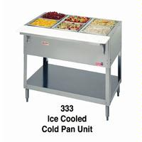 Duke Mfg 334 Cold Food Table Ice Cooled Accommodates 4 Pans 5838Length Aerohot Series