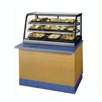 Federal Industries CD3628SS Countertop Display Case Curved Glass Self Serve NonRefrigerated 36 Long 30 Deep Signature Series