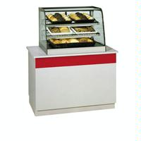 Federal Industries CD3628 Countertop Display Case Curved Glass NonRefrigerated 36 Long 30 Deep Signature Series