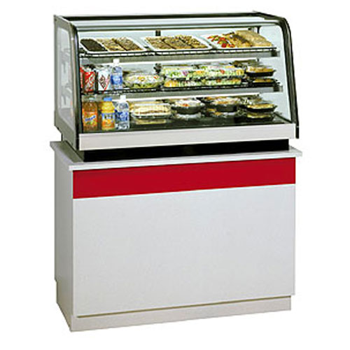 Countertop Refrigerated Display Case : ... Glass Refrigerated Countertop Display Case, 48