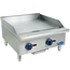 Globe C24GG Griddle Countertop Gas 24 Wide 30000 BTU Every 12 34 Thick Plate Manual Controls Chefmate Series