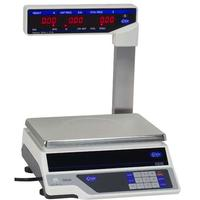Globe GS30T Price Computing Scale 01 Lb 30 Lb LCD with Display Tower