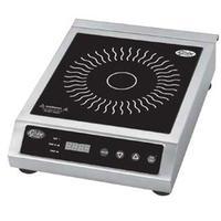 Globe GIR18 Countertop Induction Range 150 450 Degrees upto 150 minute timer