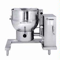 Groen DEE440 Kettle Electric Floor Mount wCrank Tilt 40 Gallon 160 Quart 21 KW