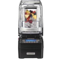 Hamilton Beach HBH750 High Performance Bar Blender Wave Action System 100 PreProgrammed Cycles Quiet Blend Technology 48 Oz Container 3 HP Eclipse Serries