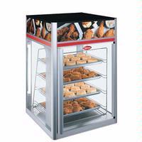 Hatco FSDT2X Display Cabinet Hot Food 4 Tier Pan Rack 2 Doors Without Revolving Motor Humidified FlavRSavor