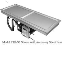 Hatco FTBS2 DropIn Slim Frost Top 541516 Long Accomodates 2 Full Size Sheet Pans