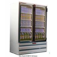 HowardMcCray GF48BMFF Glass Door Merchandiser Reach In Freezer 2 Swing Doors 5214 Length x 37 Depth