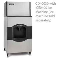 ICEOMatic CD40030 Ice Dispenser 180 lb Capacity Does Not Include Ice Maker Designed for 30 ICE Series or CUBE Ice Makers