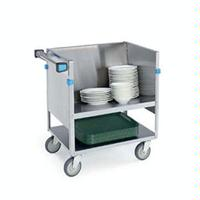 Lakeside 405 Dish Truck Double Shelf 400 Lb Capacity 5 Swivel Casters Store N Carry Series