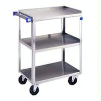 Lakeside 422 Utility Cart 500 LB Capacity 3 Shelves 18 x 27 Each Stainless Steel