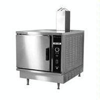 MarketForge ST5G Convection Steamer Gas One Compartment 5 Pan Compartment Manual Controls 45000 BTU
