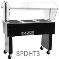 Eagle Group BPDHT3208 Buffet Portable Hot Food Table 3 Wells 48 Length Electric 208v