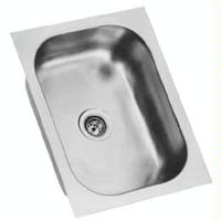 Eagle Group FDI18241351 Undermount Sink One Compartment 18 W x 24 Front to Back x 1312 Deep Bowl 18 Gauge NSF