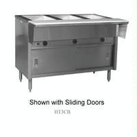 Eagle Group HT5OB208 Hot Food Table Food Warmer 5 Wells 79 Length Electric Thermostatic Controls SpecMaster Series Enclosed Base Open Front No Sliding Doors SpecMaster Series