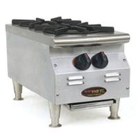 Eagle Group CLHP2NGX Hotplate Countertop Gas 2 Burners 25000 BTU Each RedHots Chefs Line Series