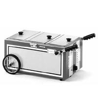 Eagle Group HD612FWSH Hot Dog Sterno Unit Countertop Model 814 W x 2214 L Holds 2 8oz Fuel Cans