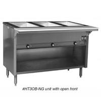 Eagle Group HT3OB208 Hot Food Table Food Warmer 3 Dry Wells 48 Length Thermostatic Controls in Recessed Panel Electric