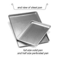 Eagle Group SP1813181X Aluminum Sheet PanBun Pan Half Size Solid 18 Gauge Panco Series Priced Each Packed in Box of 12
