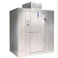 Norlake KLF7788C Kold Locker Walk In Indoor Modular Freezer With Floor 8 x 8 x 7 7H Ceiling Mount Compressor 1 12 HP