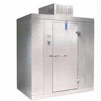 Norlake KLF77810C Kold Locker Walk In Indoor Modular Freezer With Floor 8 x 10 x 77H Ceiling Mount Compressor 112 HP