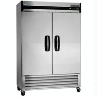 NorLake NLR49S ReachIn Refrigerator 2 Stainless Steel Doors 5514 Wide 4 Casters Advantedge Series